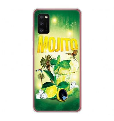 Coque en silicone Samsung Galaxy A41 - Mojito Forêt