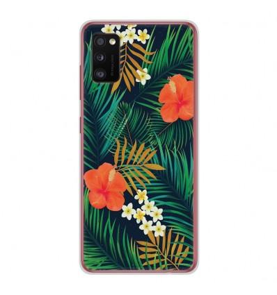 Coque en silicone Samsung Galaxy A41 - Tropical