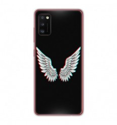 Coque en silicone Samsung Galaxy A41 - Ailes d'Ange