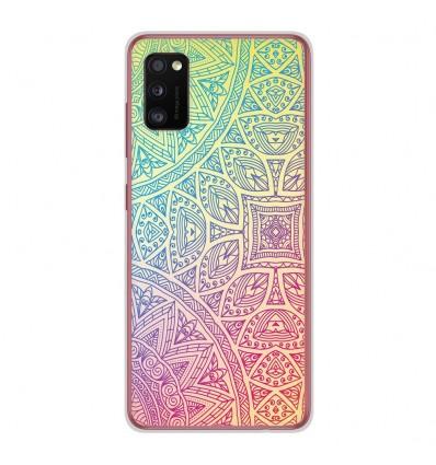 Coque en silicone Samsung Galaxy A41 - Mandala Pastel