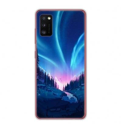 Coque en silicone Samsung Galaxy A41 - Tombée de nuit