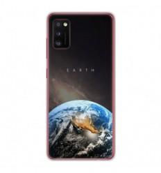 Coque en silicone Samsung Galaxy A41 - Earth
