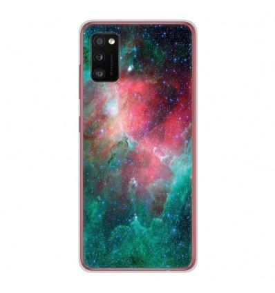 Coque en silicone Samsung Galaxy A41 - Nébuleuse