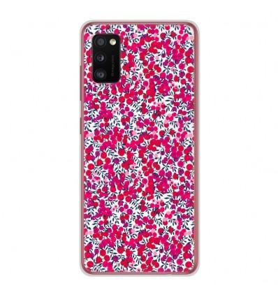 Coque en silicone Samsung Galaxy A41 - Liberty Wiltshire Rouge