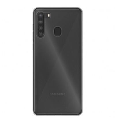Coque Samsung Galaxy A21S Silicone Gel - Transparent