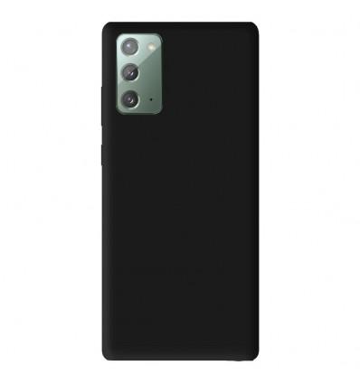 Coque Samsung Galaxy Note 20 Silicone Gel mat - Noir Mat