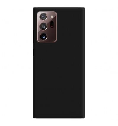 Coque Samsung Galaxy Note 20 Ultra Silicone Gel mat - Noir Mat