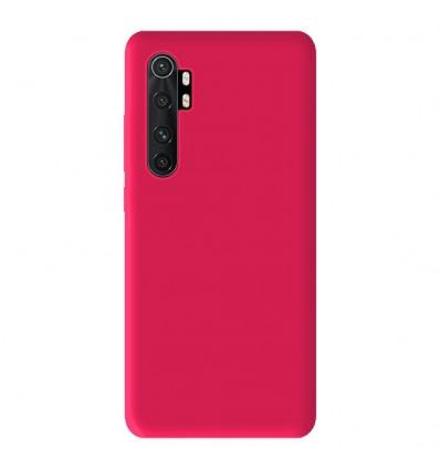Coque Xiaomi Mi Note 10 Lite Silicone Gel mat - Rose Mat