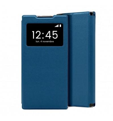 Etui Folio Huawei Mate 30 Lite - Bleu