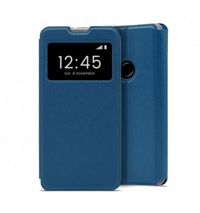 Etui Folio pour Huawei Y6S - Bleu