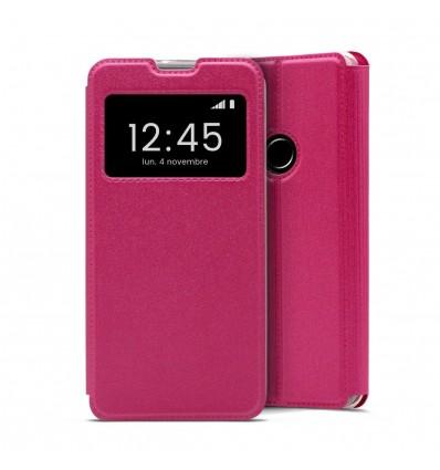 Etui Folio pour Huawei Y6S - Rose