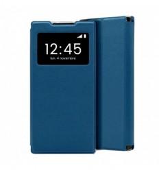 Etui Folio Xiaomi Redmi Note 9 - Bleu