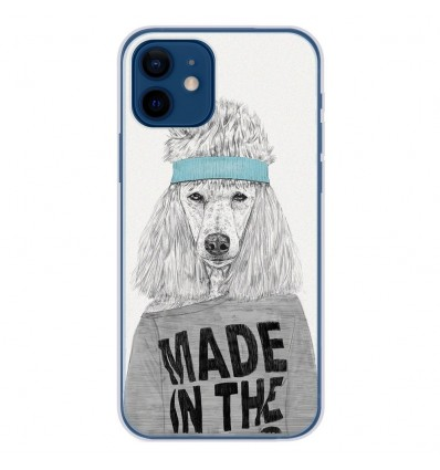 Coque en silicone Apple iPhone 12 - BS 80s Bitch