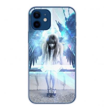 Coque en silicone Apple iPhone 12 - Angel