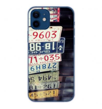Coque en silicone Apple iPhone 12 - Quebec