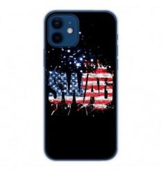 Coque en silicone Apple iPhone 12 - Swag usa