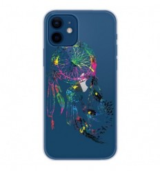 Coque en silicone Apple iPhone 12 - Dreamcatcher Gris