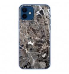 Coque en silicone Apple iPhone 12 - Marbre