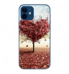 Coque en silicone Apple iPhone 12 - Arbre Love