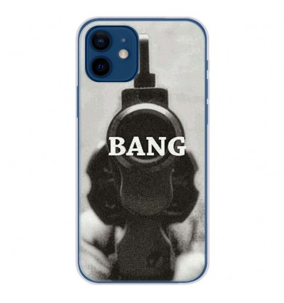 Coque en silicone Apple iPhone 12 - Bang