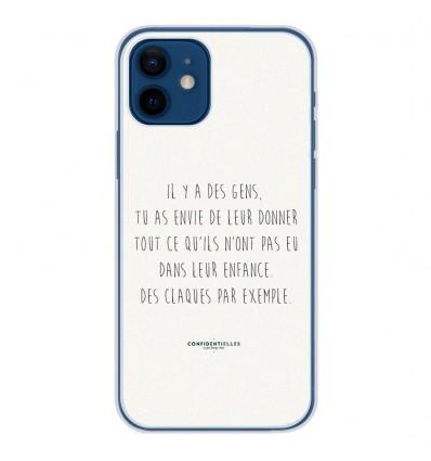 Coque en silicone Apple iPhone 12 - Citation 01