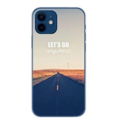 Coque en silicone Apple iPhone 12 - Citation 03