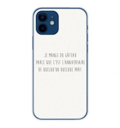 Coque en silicone Apple iPhone 12 - Citation 12
