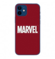 Coque en silicone Apple iPhone 12 - Marvel
