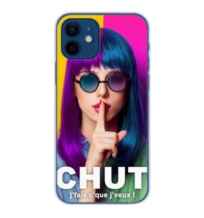 Coque en silicone Apple iPhone 12 - Chut