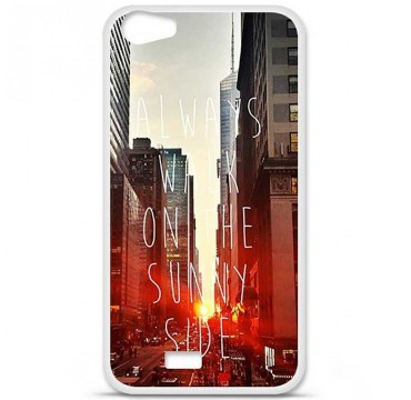Coque en silicone pour Wiko Lenny 2 - Sunny side