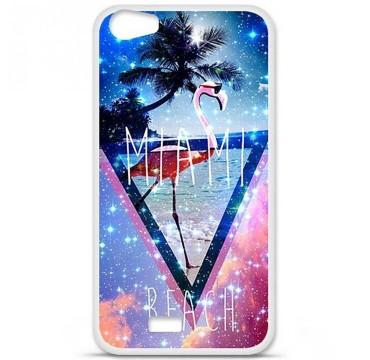 Coque en silicone pour Wiko Lenny 2 - Miami beach