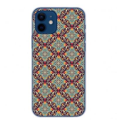 Coque en silicone Apple iPhone 12 - Arabesque