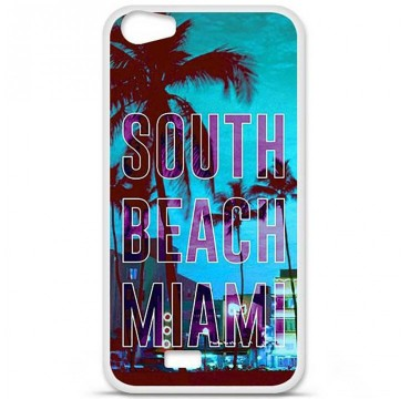 Coque en silicone Wiko Lenny 2 - South beach miami