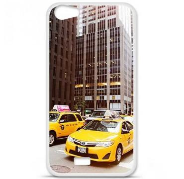 Coque en silicone pour Wiko Lenny 2 - NY Taxi