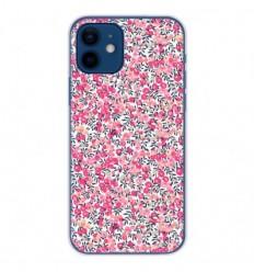 Coque en silicone Apple iPhone 12 - Liberty Wiltshire Rose