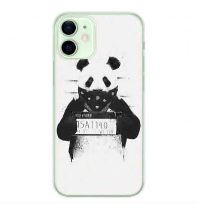 Coque en silicone Apple iPhone 12 Mini - BS Bad Panda