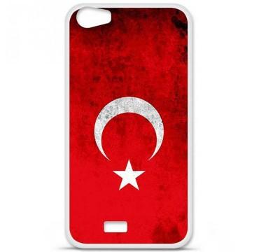 Coque en silicone pour Wiko Lenny 2 - Drapeau Turquie