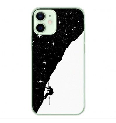 Coque en silicone Apple iPhone 12 Mini - BS Nightclimbing