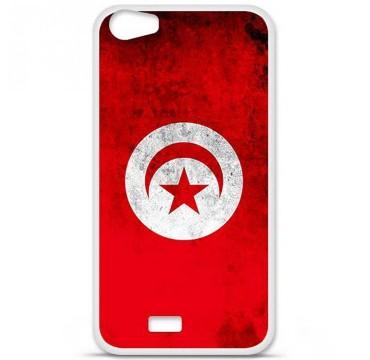 Coque en silicone pour Wiko Lenny 2 - Drapeau Tunisie