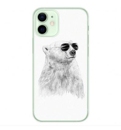 Coque en silicone Apple iPhone 12 Mini - BS Sunny bear