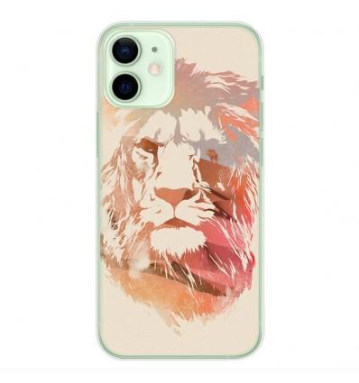Coque en silicone Apple iPhone 12 Mini - RF Desert Lion