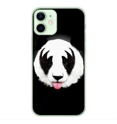 Coque en silicone Apple iPhone 12 Mini - RF Kiss Of Panda