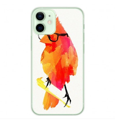 Coque en silicone Apple iPhone 12 Mini - RF Punk Birdy