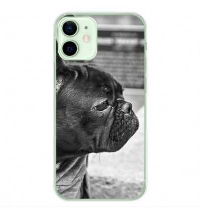 Coque en silicone Apple iPhone 12 Mini - Bulldog