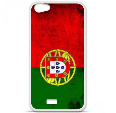 Coque en silicone pour Wiko Lenny 2 - Drapeau Portugal