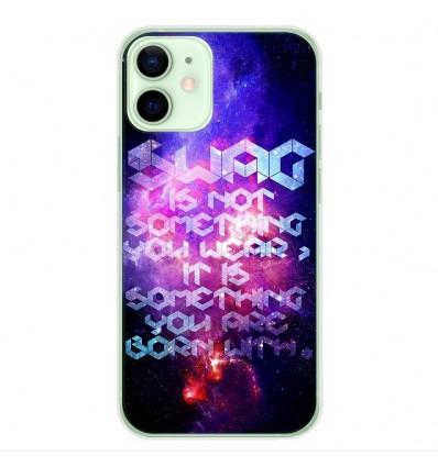 Coque en silicone Apple iPhone 12 Mini - Cosmic swag