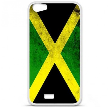 Coque en silicone pour Wiko Lenny 2 - Drapeau Jamaïque