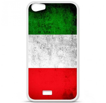 Coque en silicone pour Wiko Lenny 2 - Drapeau Italie
