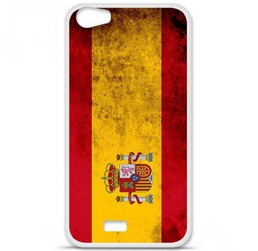 Coque en silicone Wiko Lenny 2 - Drapeau Espagne