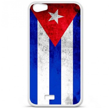Coque en silicone pour Wiko Lenny 2 - Drapeau Cuba